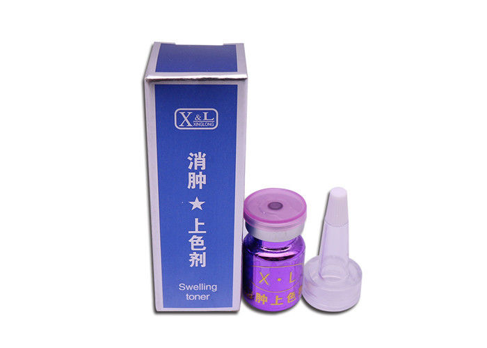 Swelling Coloring Agent Tattoo Auxiliary Product For Fixed Color Tattoo Operation